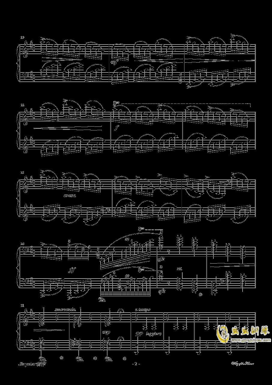 花的�A舞曲�琴�V 第2�