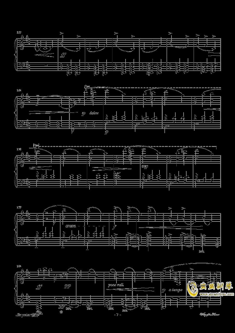 花的�A舞曲�琴�V 第7�