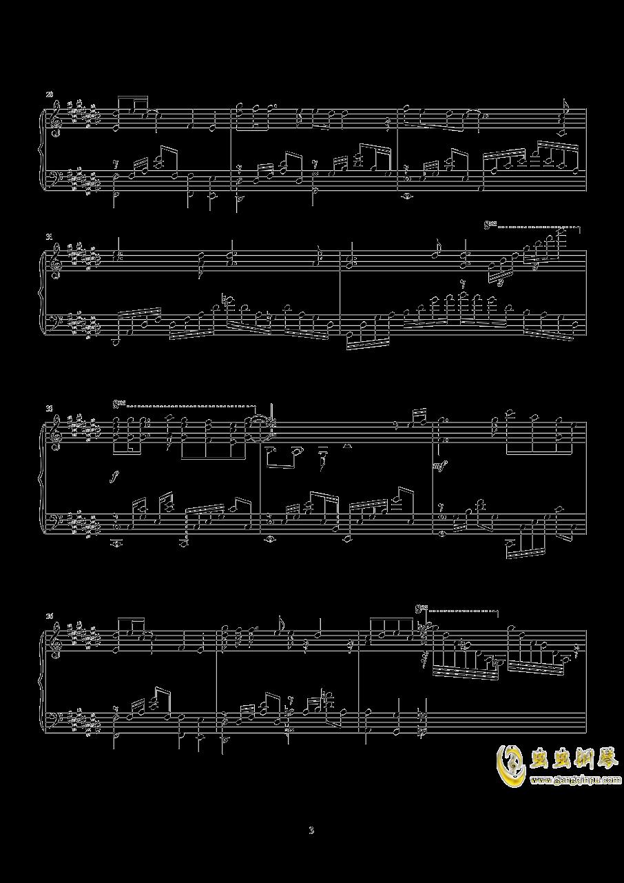 キネマ 末日时有没有空钢琴谱 第4页