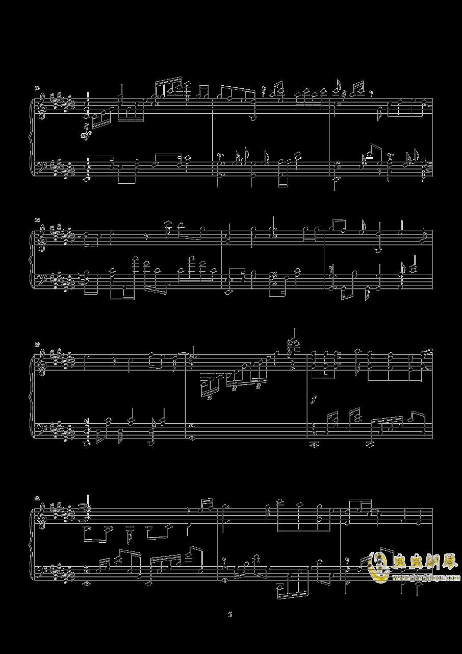 キネマ 末日时有没有空钢琴谱 第6页