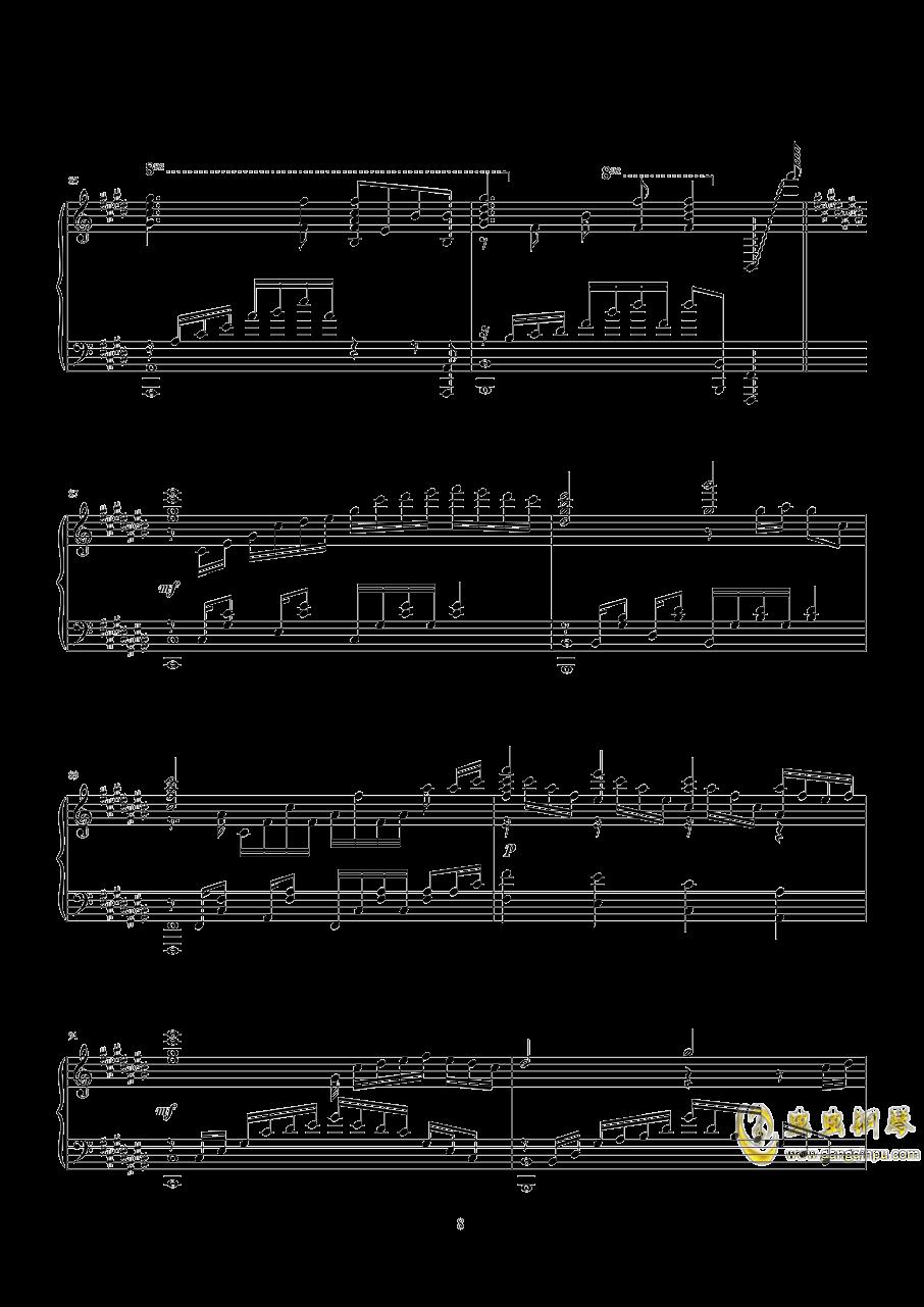 キネマ 末日时有没有空钢琴谱 第9页