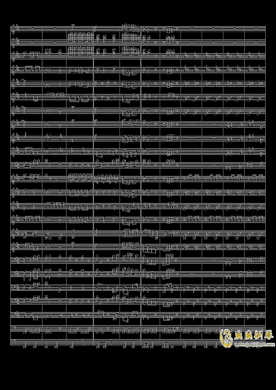 中国人民解放军进行曲钢琴谱 第2页