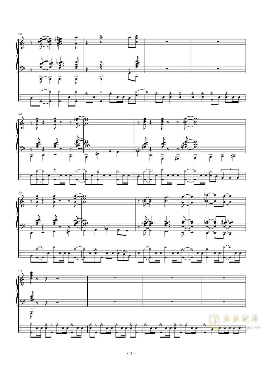 爵士鼓考��非��琴�V 第11�