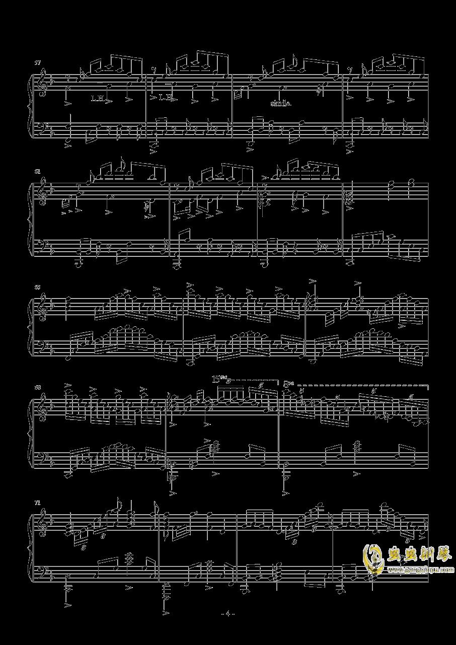 霜雪千年钢琴谱 第4页