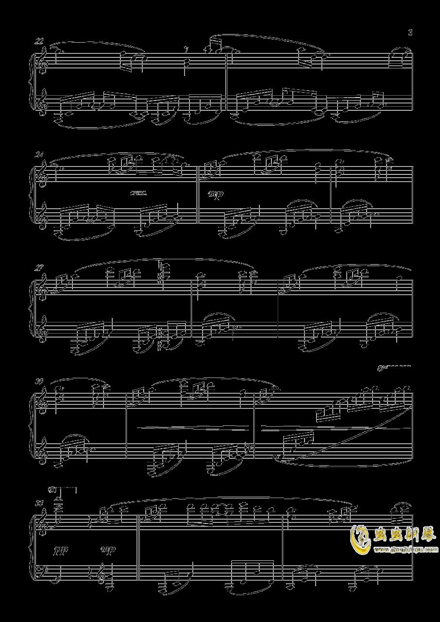月景色钢琴谱 第3页