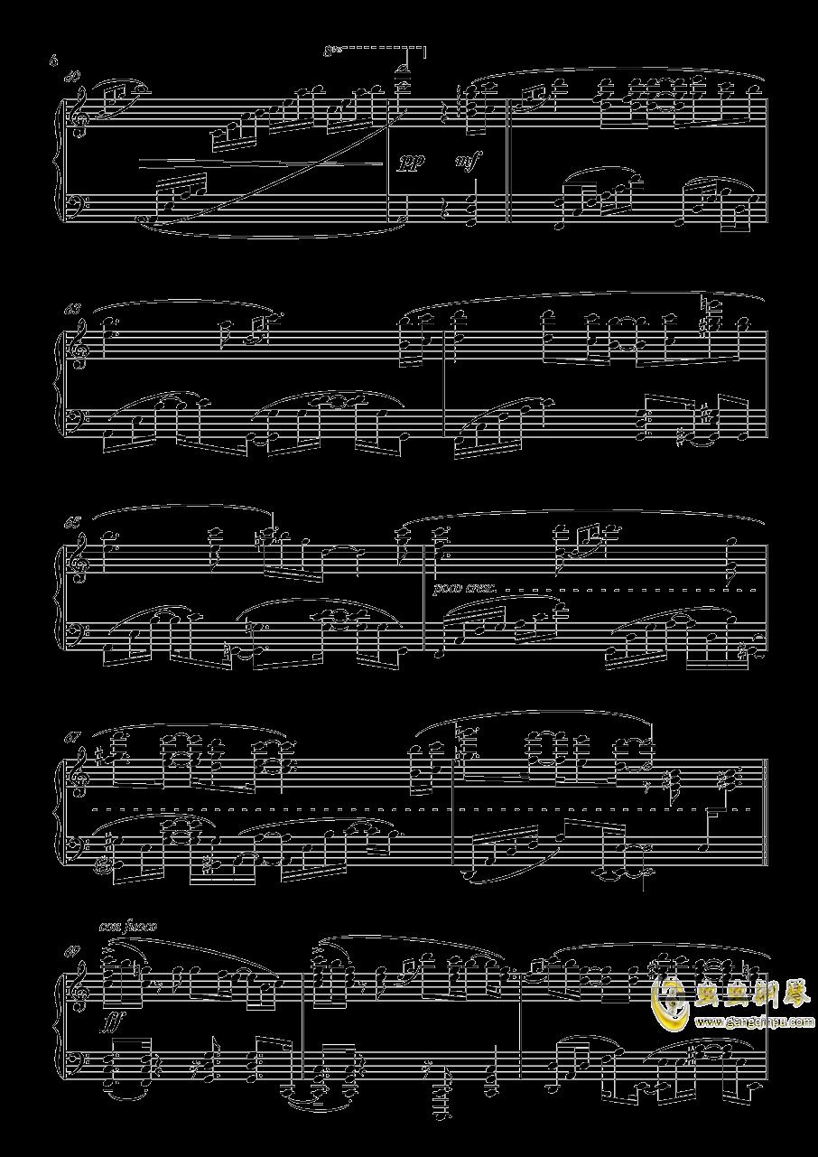 月景色钢琴谱 第6页