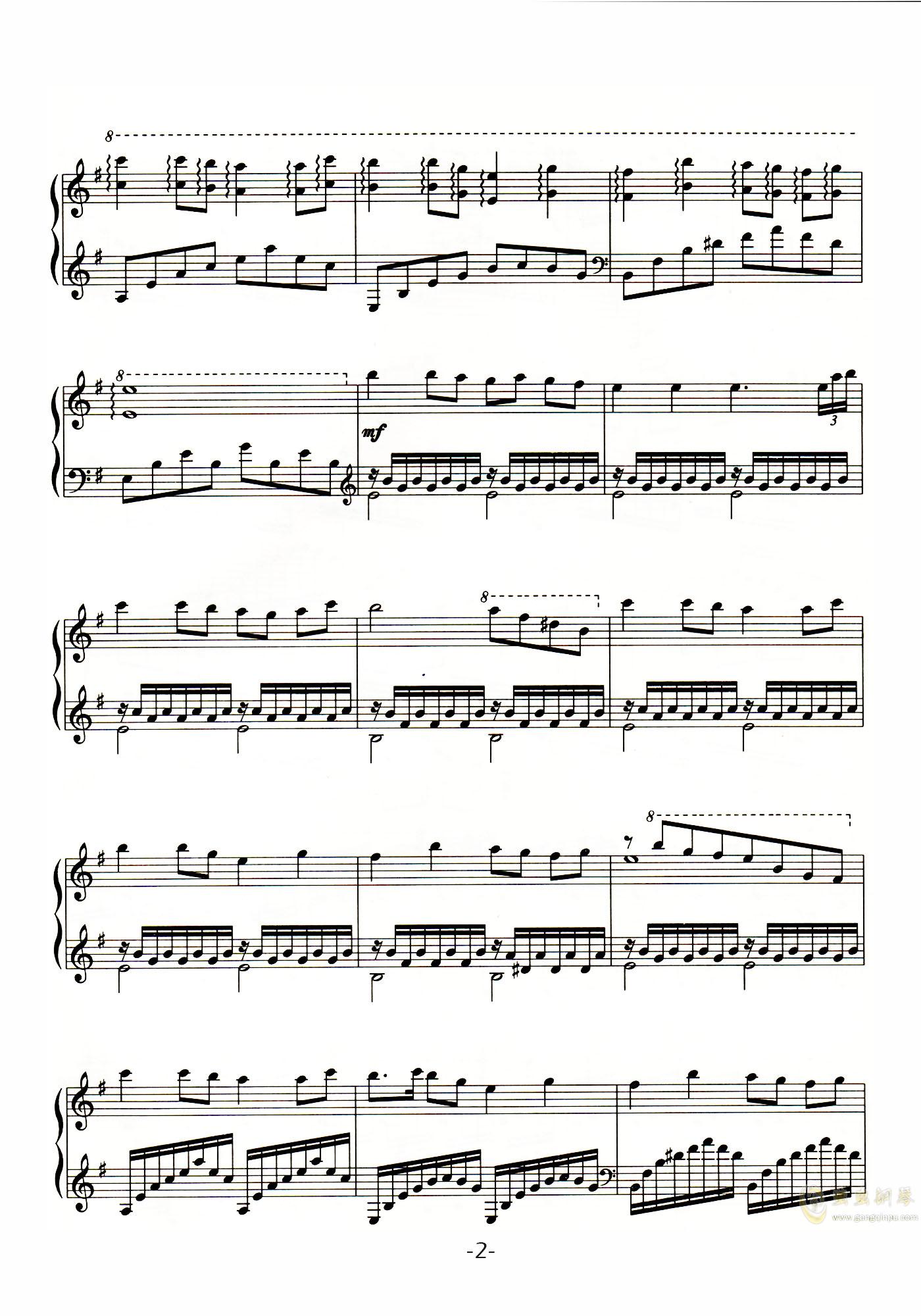 四季歌ag88环亚娱乐谱 第2页