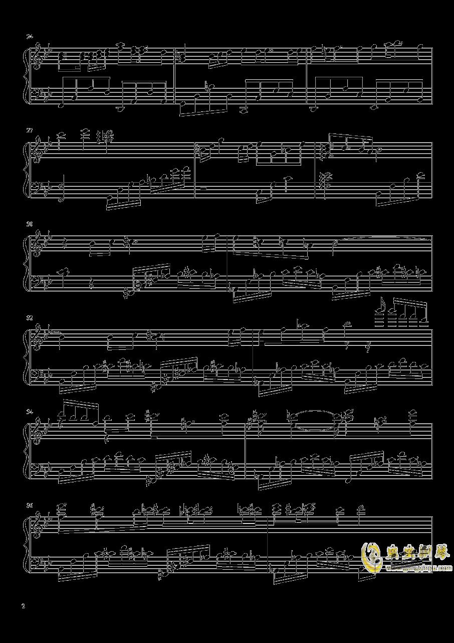 破碎的时光钢琴谱 第2页