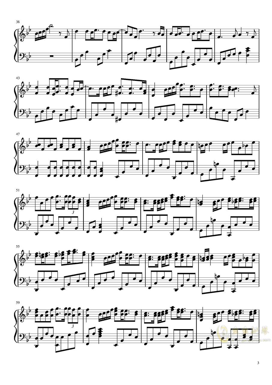 破碎的时光钢琴谱 第3页