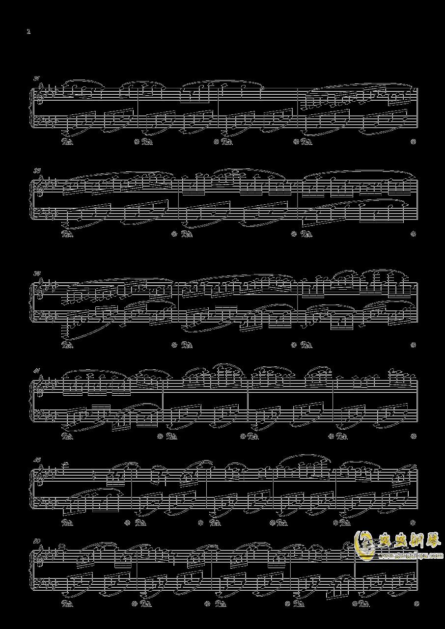 April钢琴谱 第2页