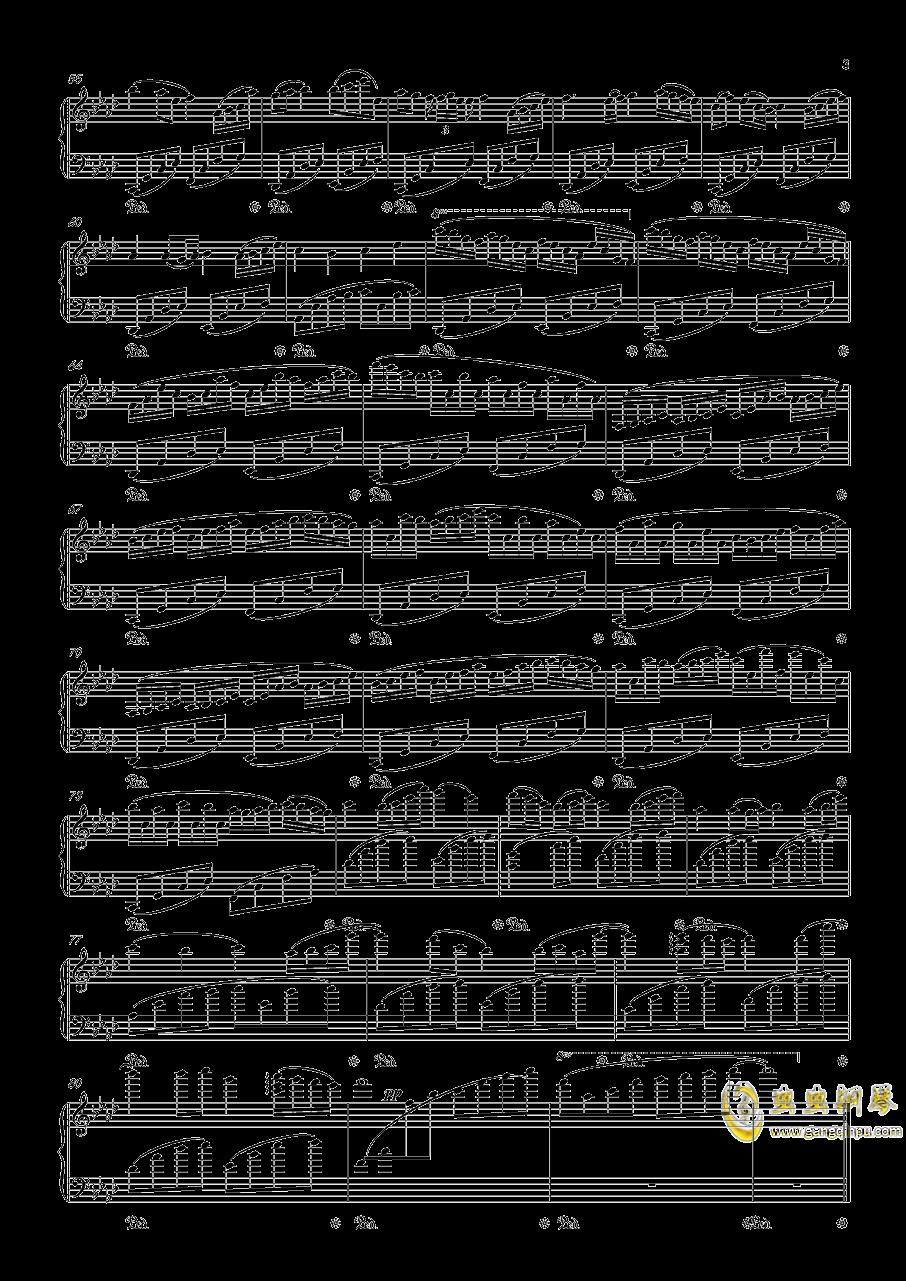 April钢琴谱 第3页