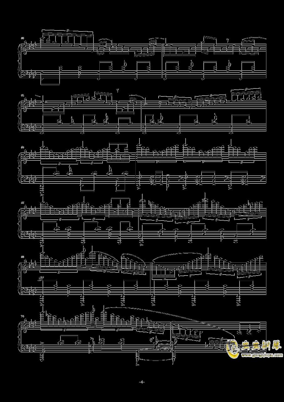 main theme钢琴谱 第4页