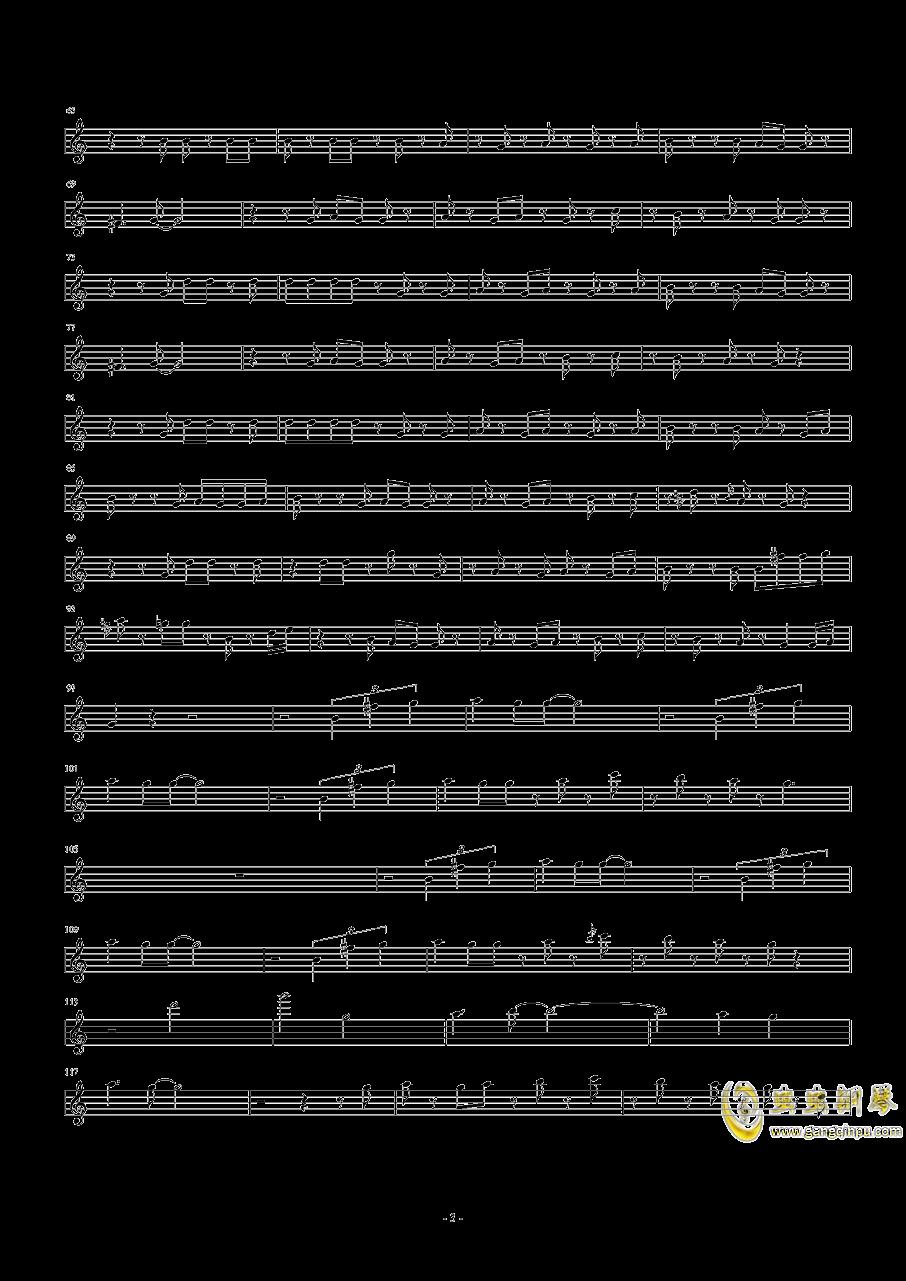 イニ�`リトル・アジアンタム钢琴谱 第3页