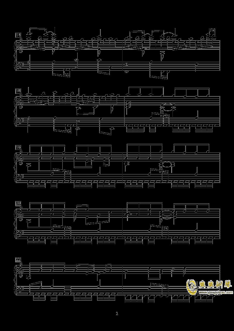 明日方舟钢琴谱 第2页