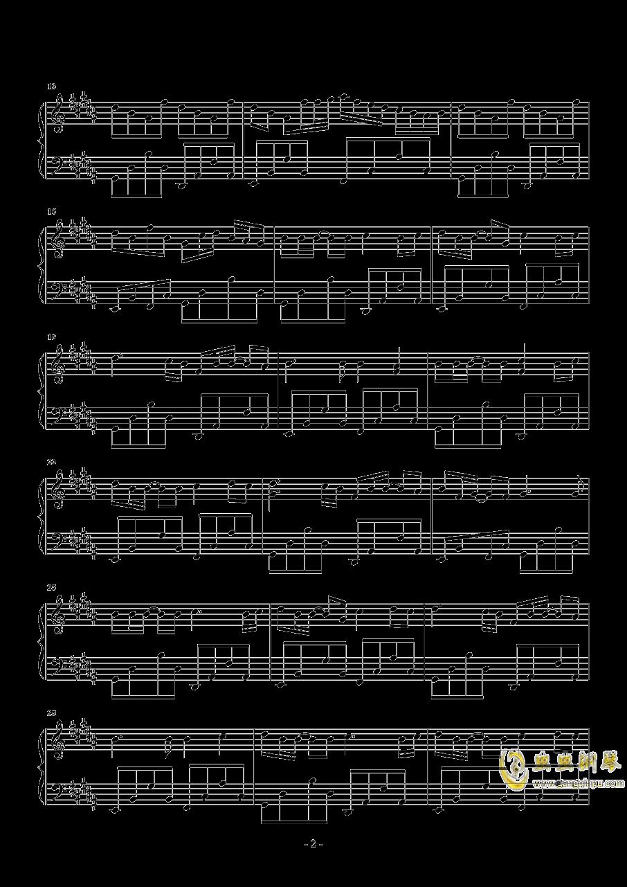 时光卷轴钢琴谱 第2页