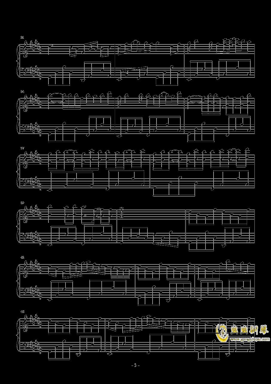 时光卷轴钢琴谱 第3页