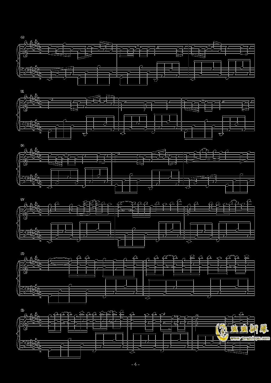 时光卷轴钢琴谱 第4页