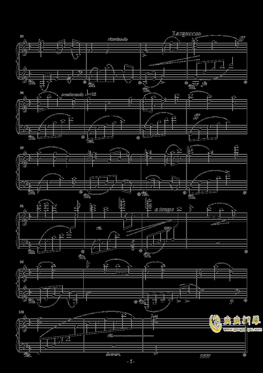 Evening Star钢琴谱 第5页