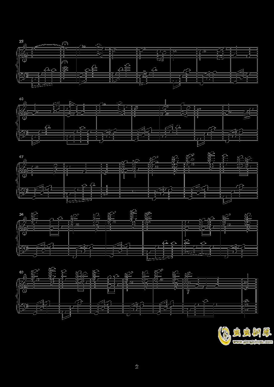春来钢琴谱 第2页