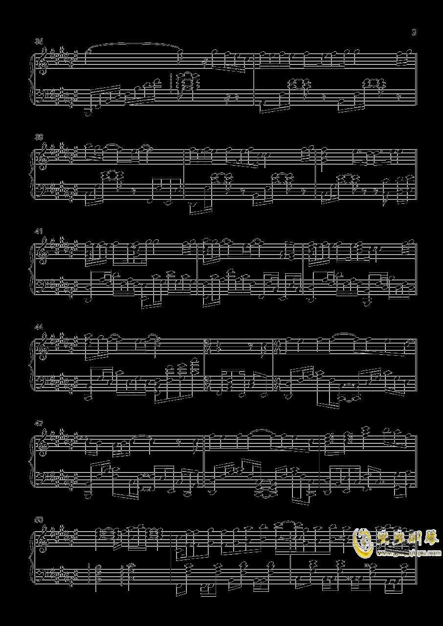 優しさの理由——冰菓OP钢琴谱 第3页