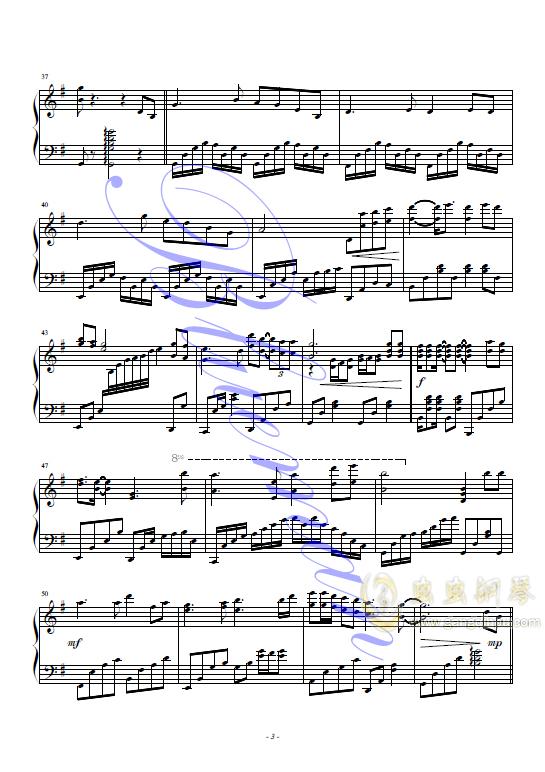 偏偏喜欢你钢琴谱 第3页