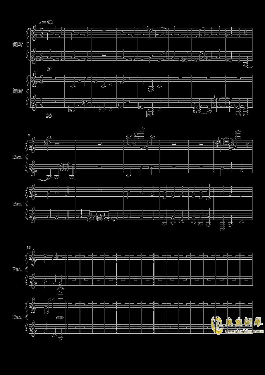 迷钢琴谱 第1页