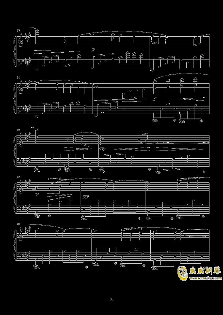 Love Grows钢琴谱 第2页