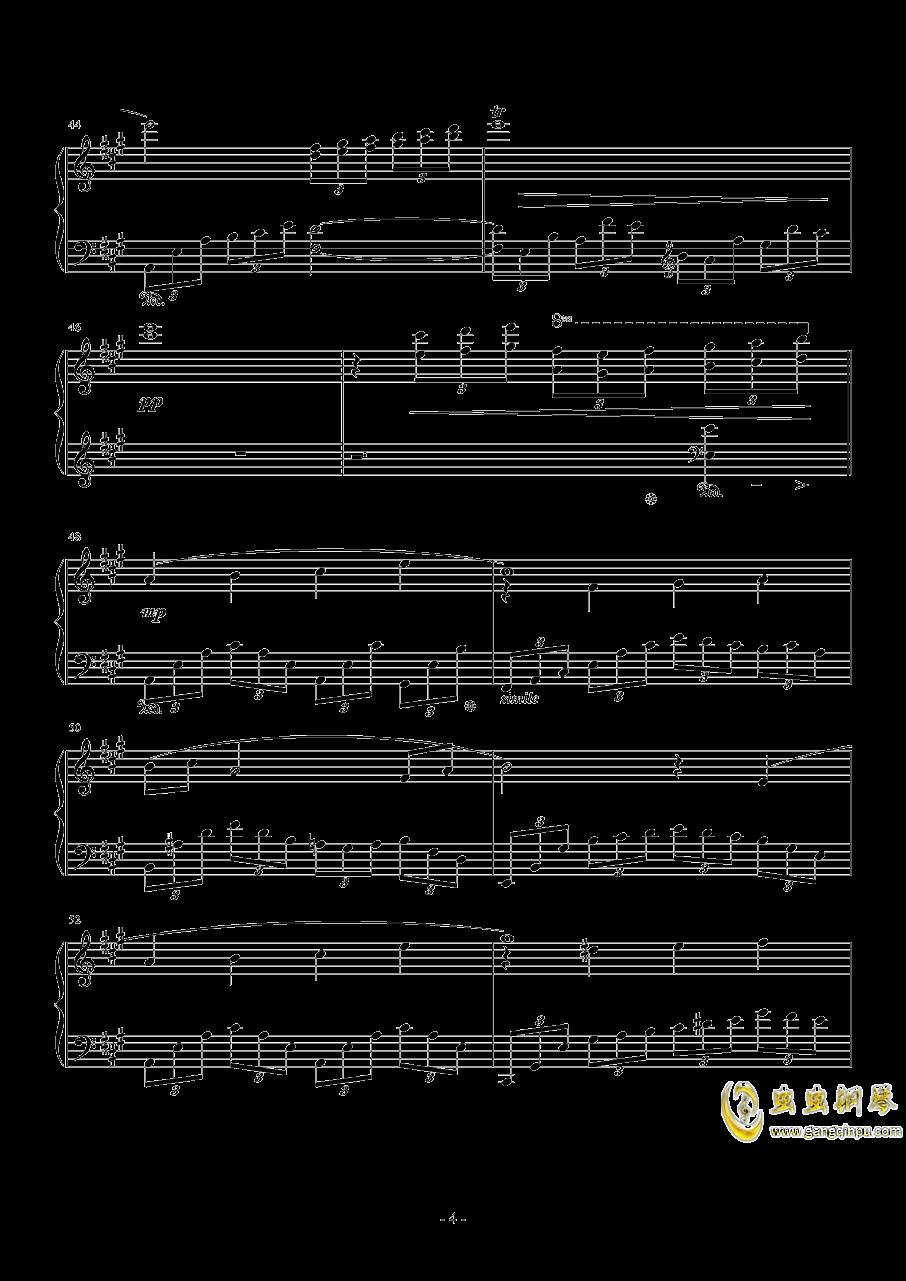 Love Grows钢琴谱 第4页