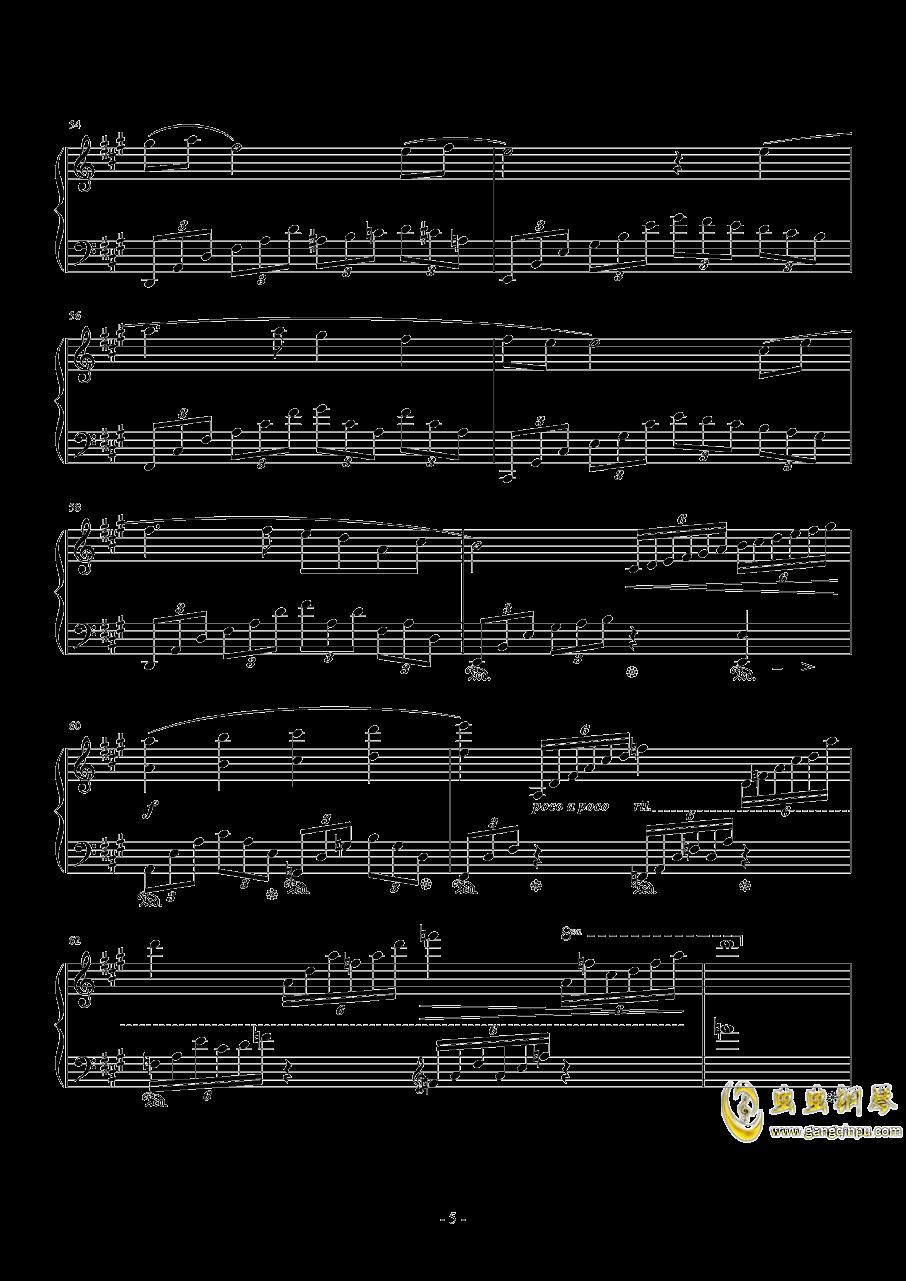 Love Grows钢琴谱 第5页