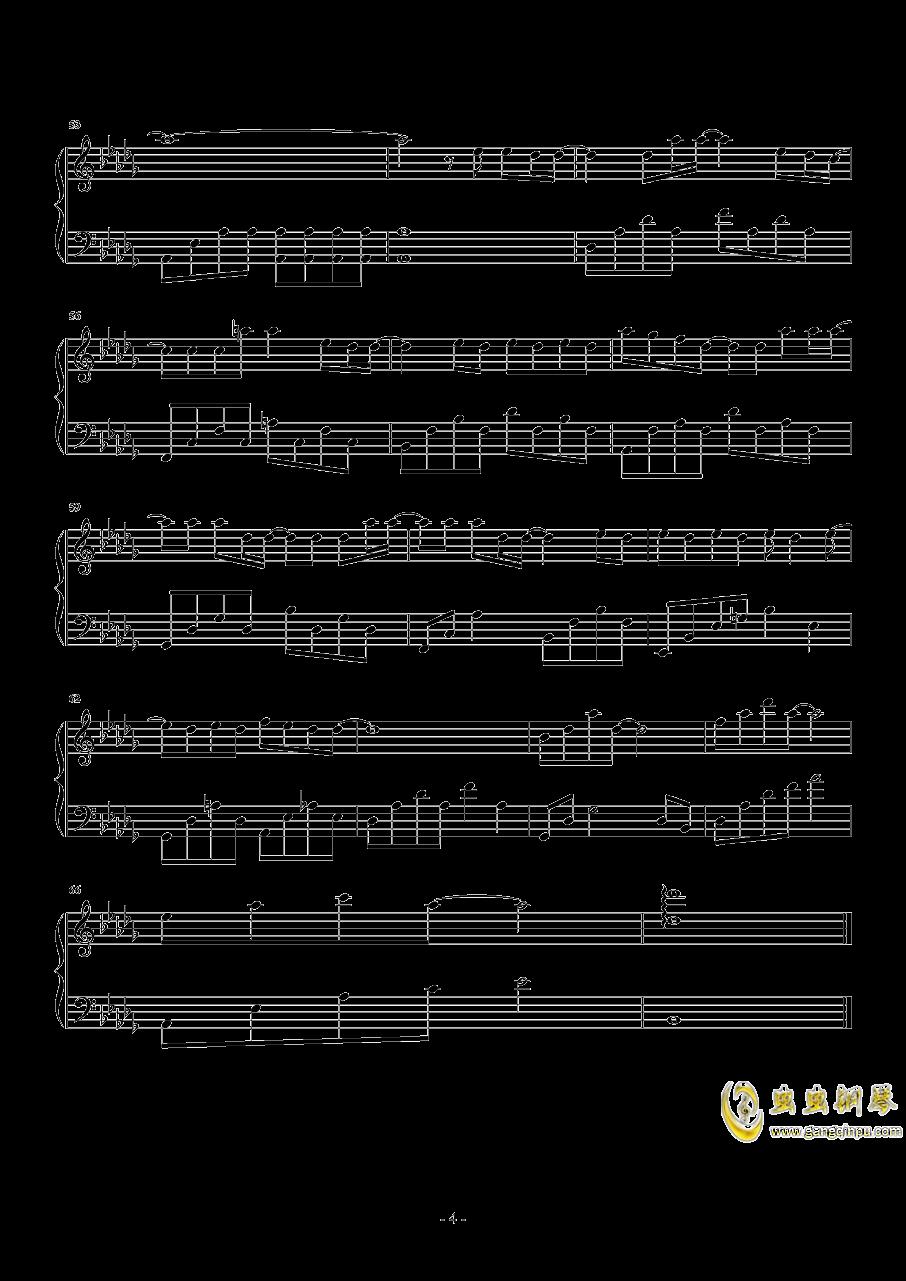 无名之辈钢琴谱 第4页
