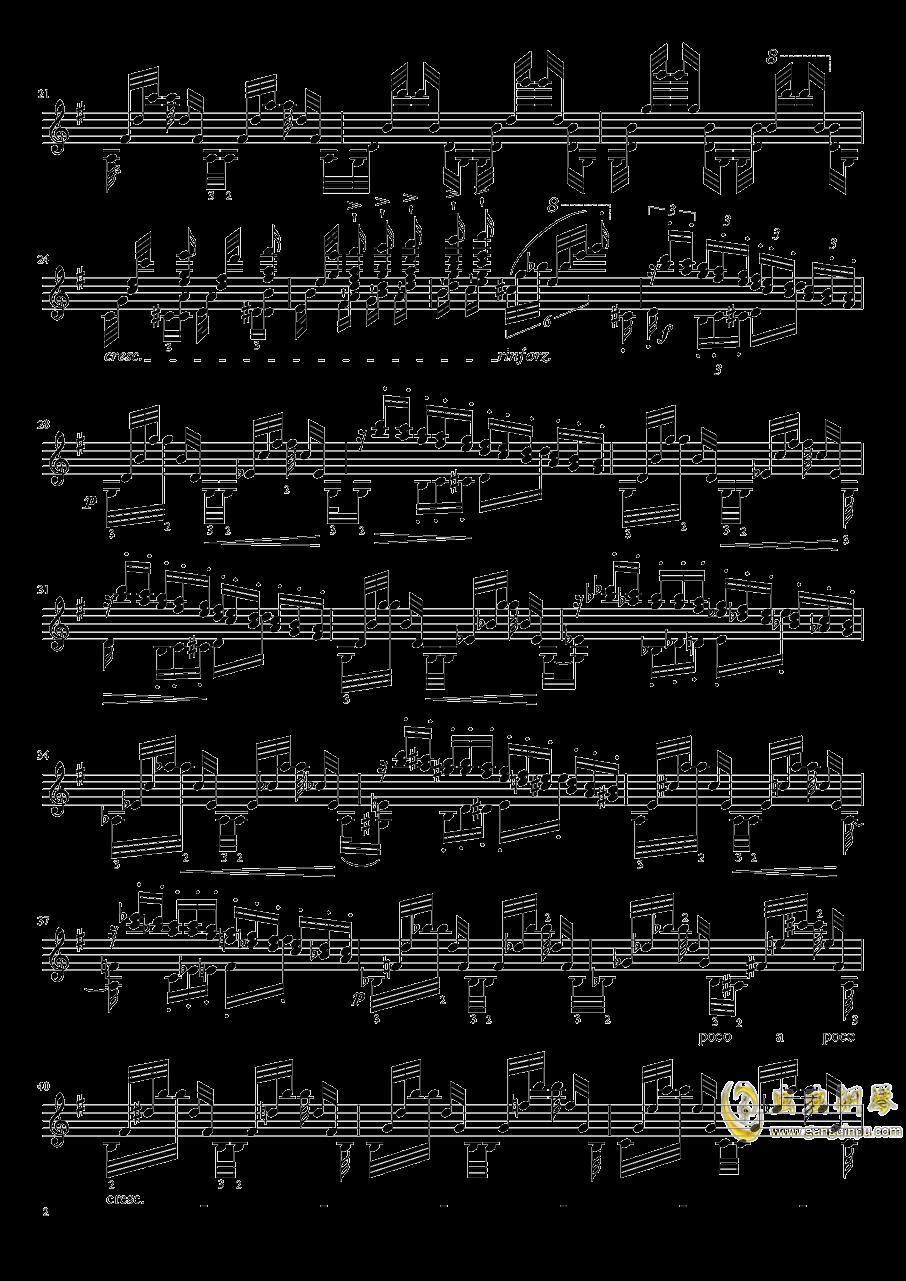 帕格尼尼大��曲4�琴�V 第2�