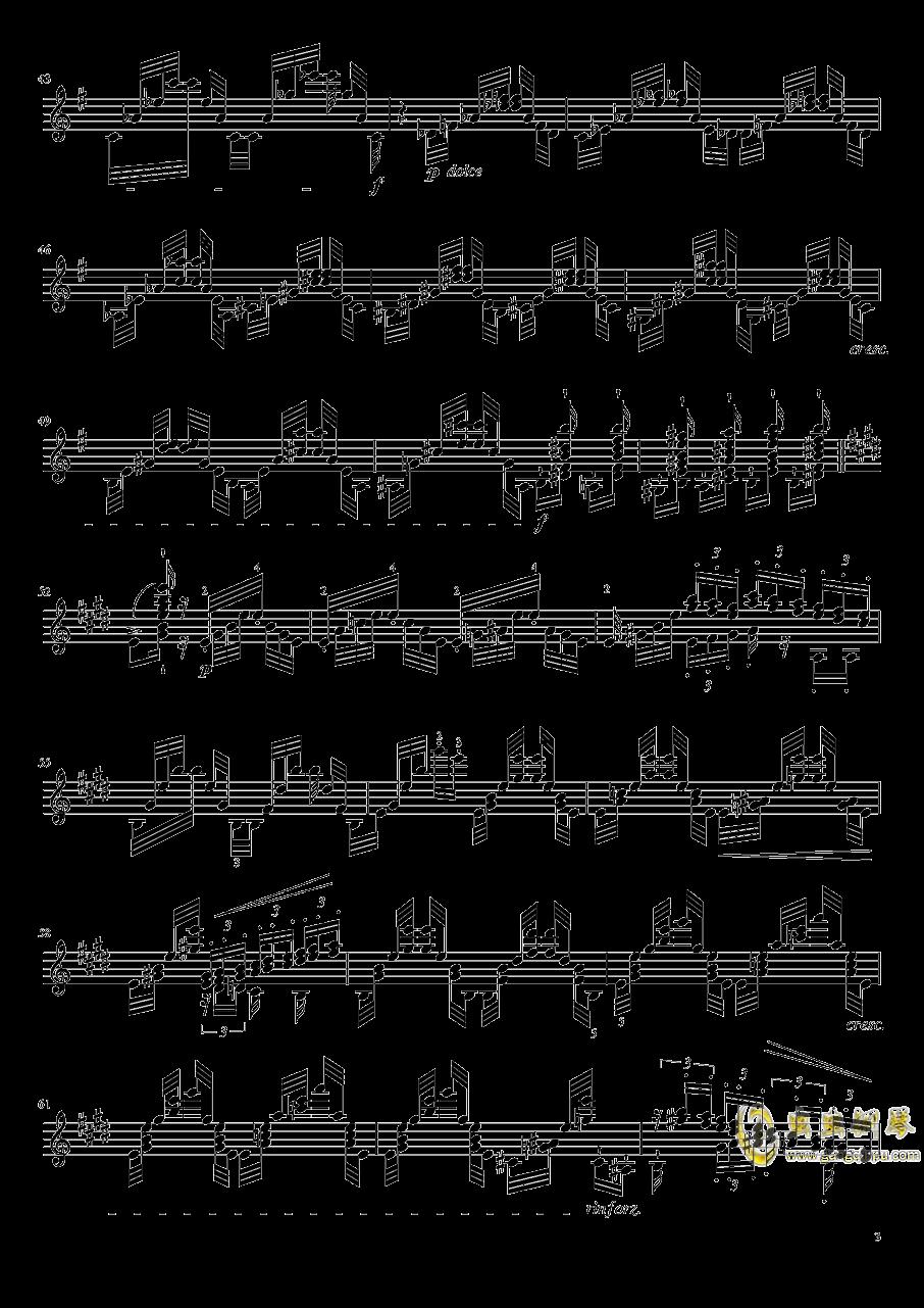 帕格尼尼大��曲4�琴�V 第3�