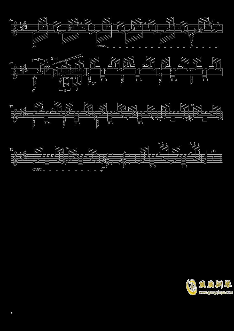 帕格尼尼大��曲4�琴�V 第4�