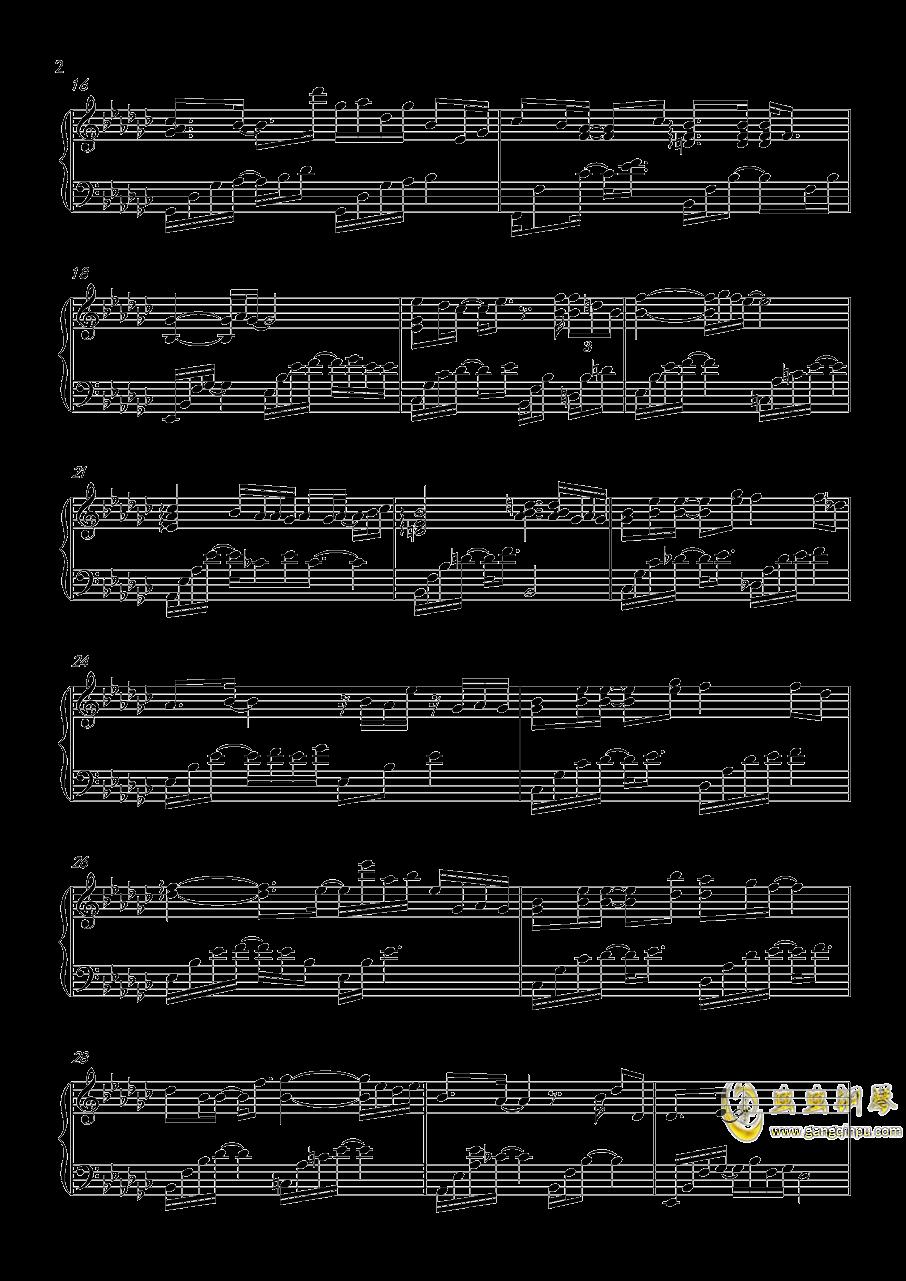 默读钢琴谱 第2页