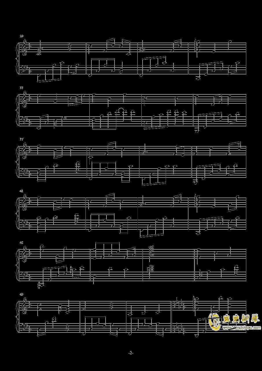 Silent Night钢琴谱 第2页