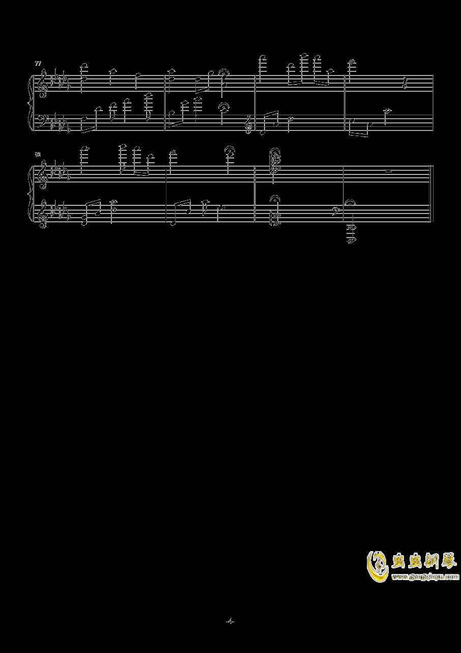 Silent Night钢琴谱 第4页