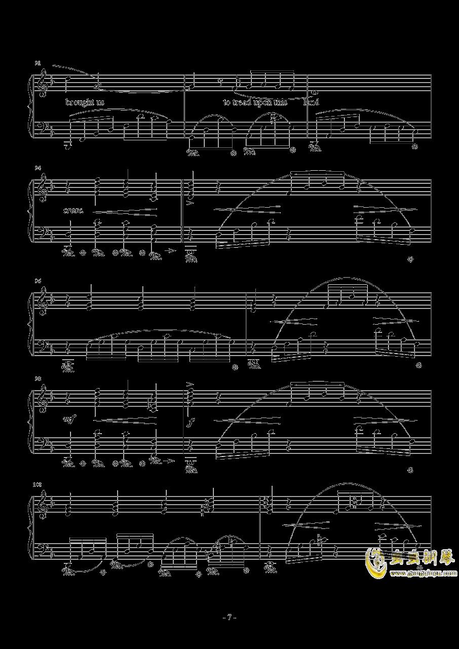 Distant Worlds钢琴谱 第7页