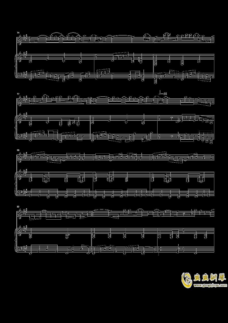 Speechless钢琴谱 第2页