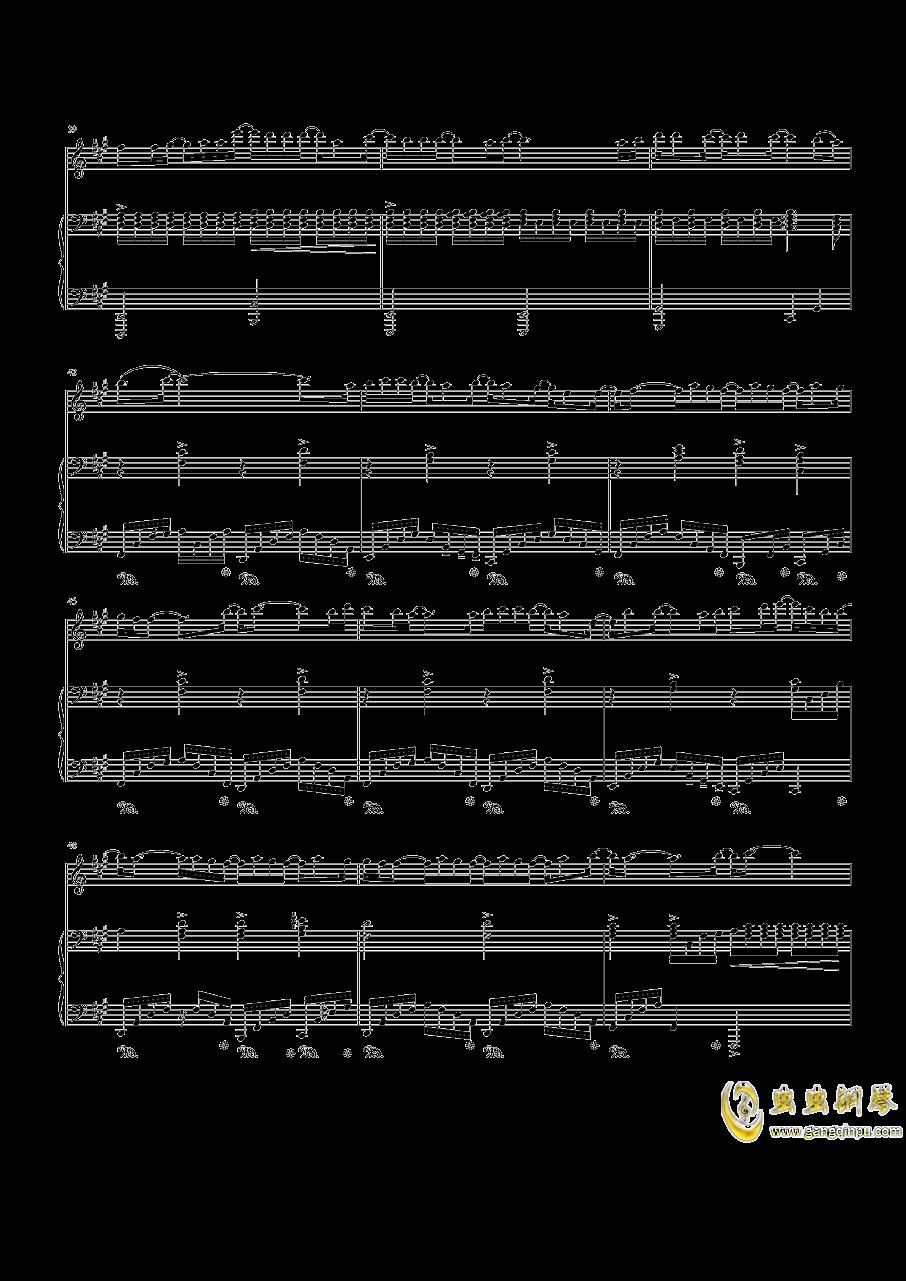 Speechless钢琴谱 第4页