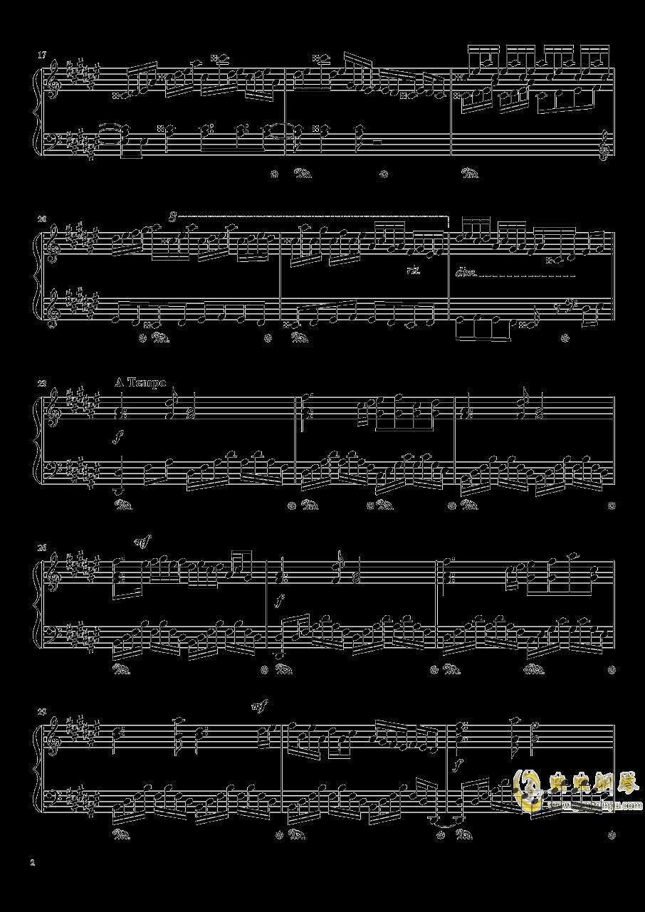 Dream Battle钢琴谱 第2页