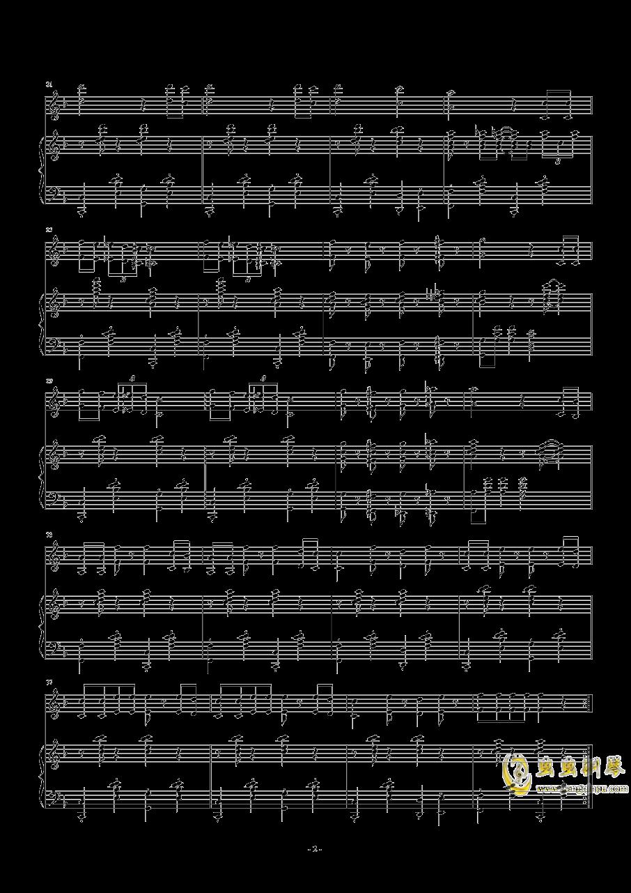 踏到猫咪了钢琴谱 第2页
