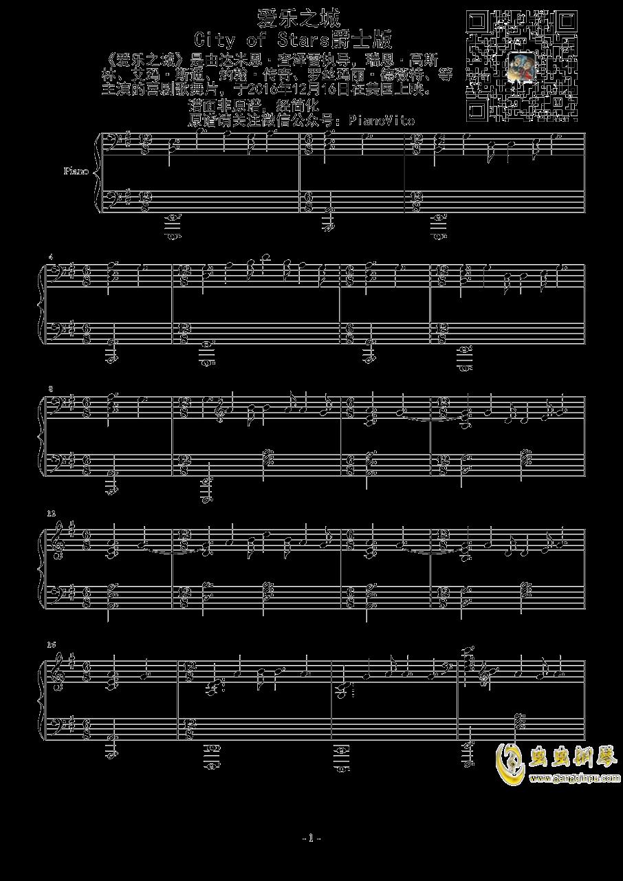 惊愕钢琴谱 第1页