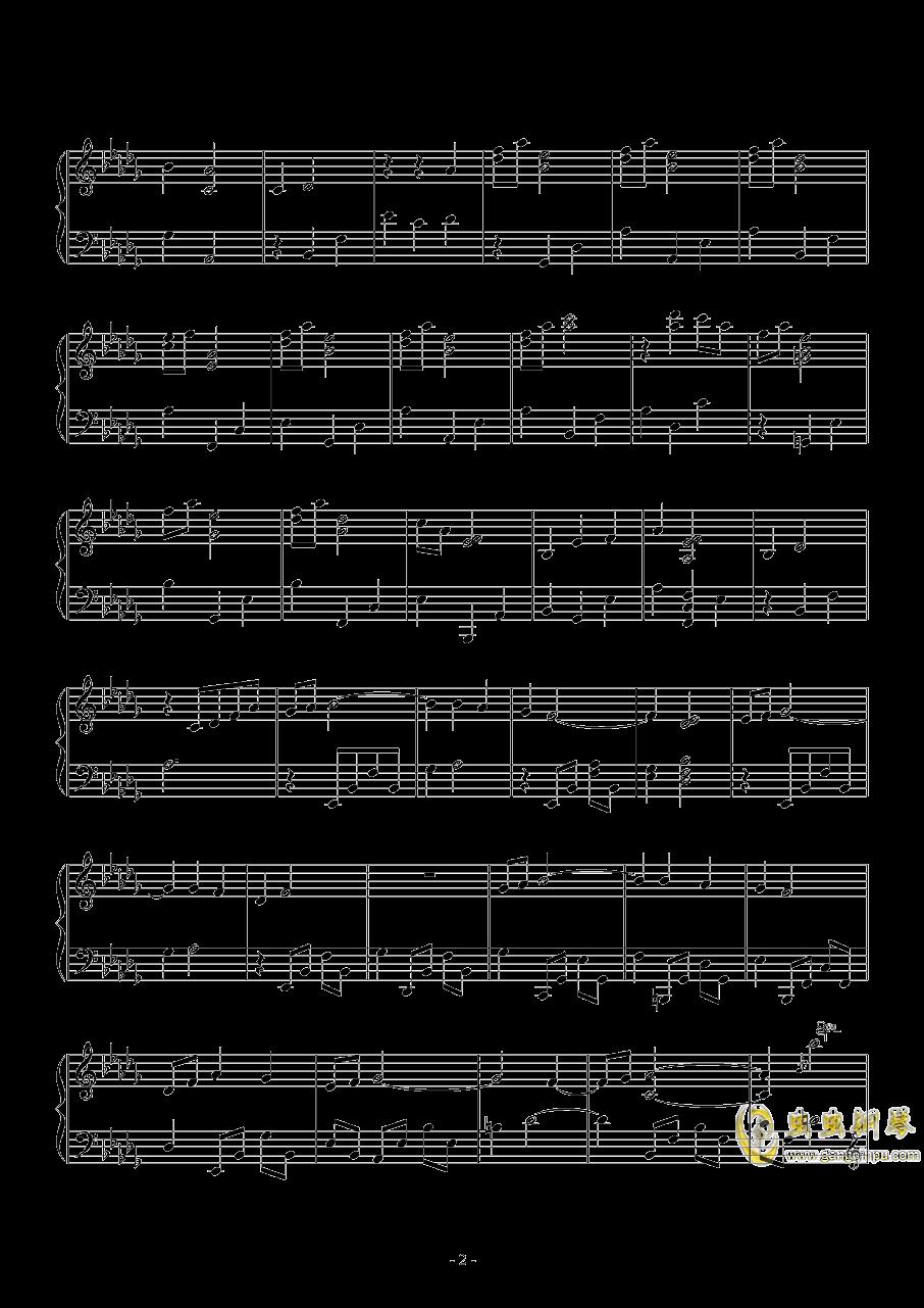狂赌之渊钢琴谱 第2页
