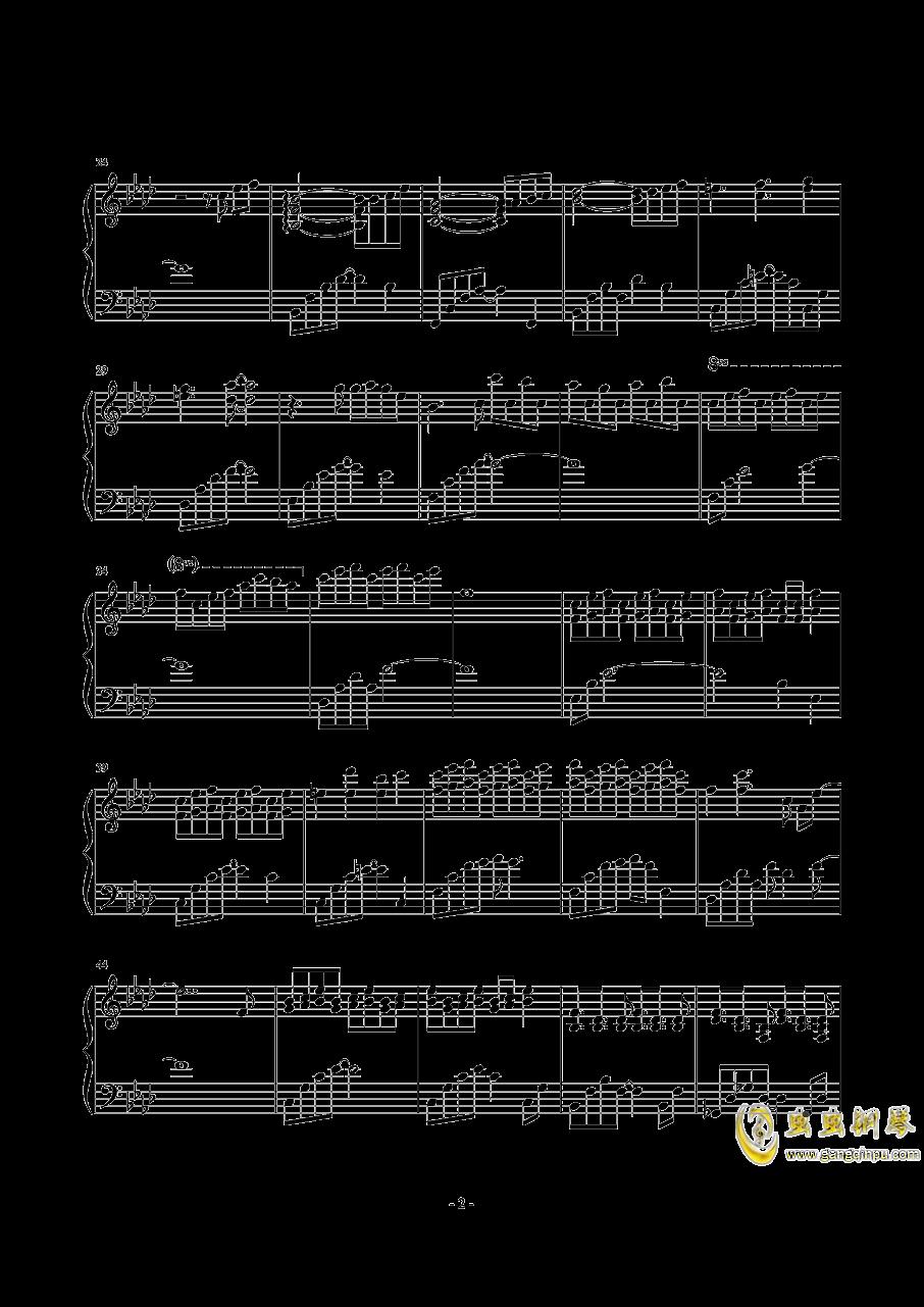 或许等不到,消雪~Tell Me Where Future is钢琴谱 第2页