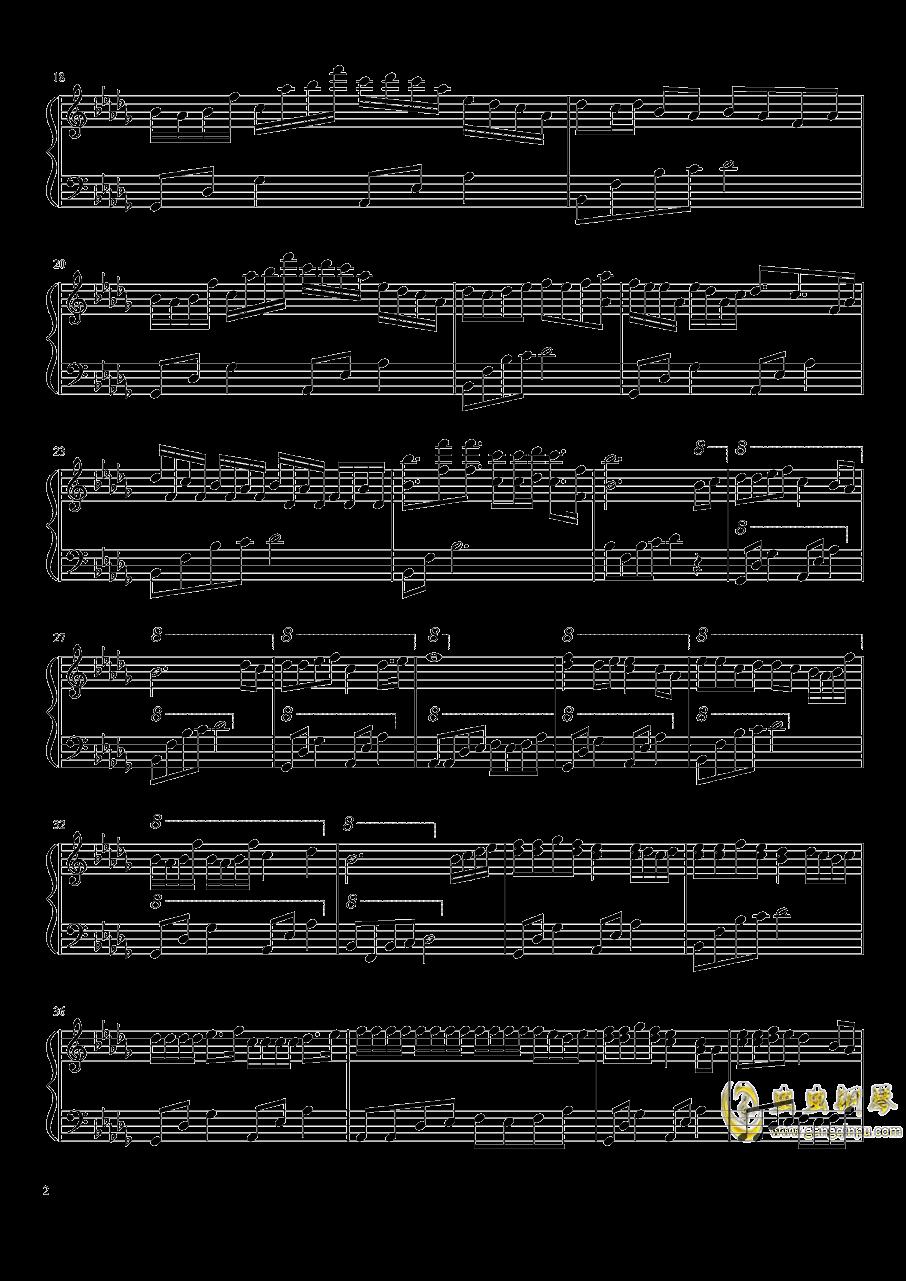 花雨繁星钢琴谱 第2页