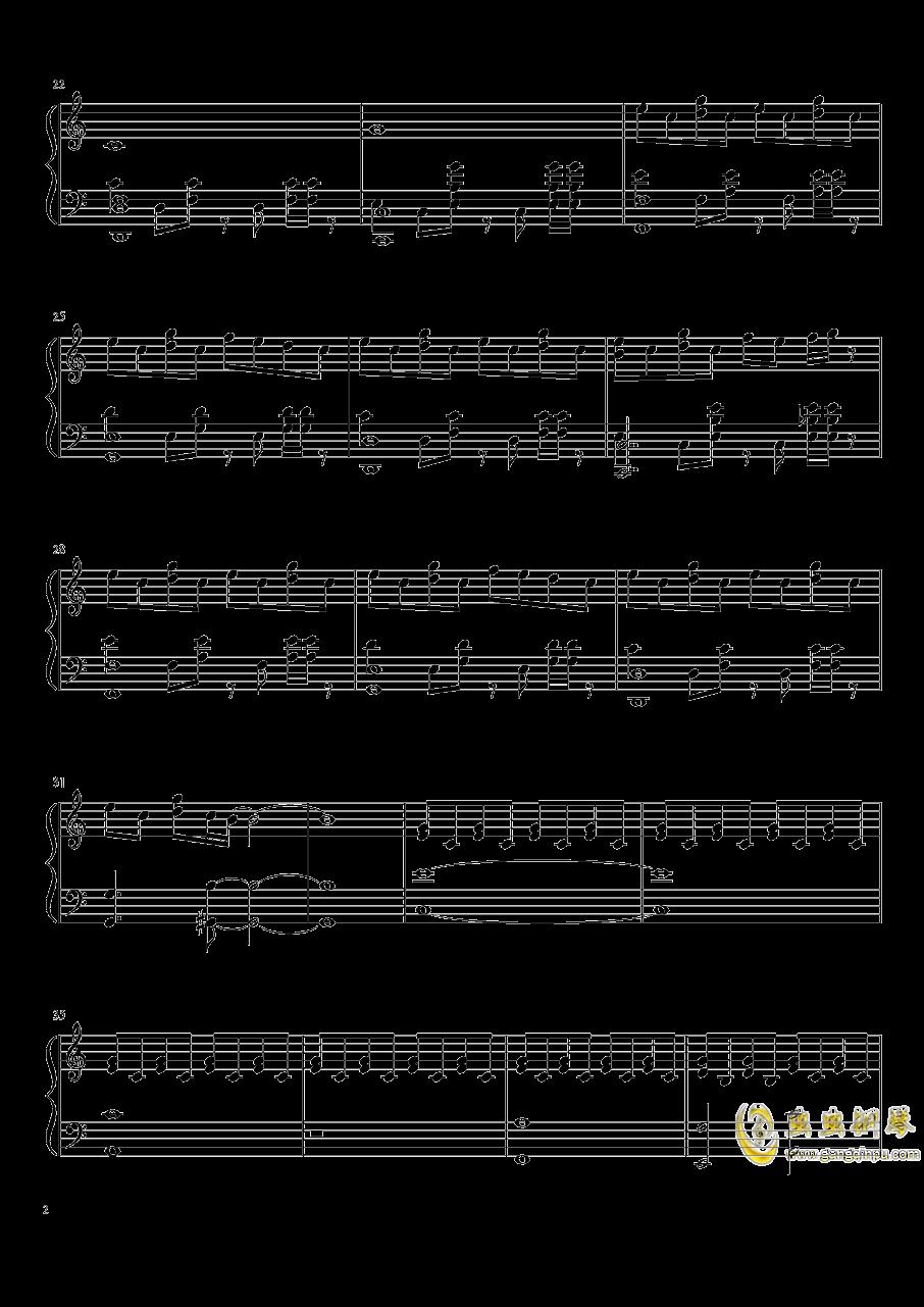 花钢琴谱 第2页