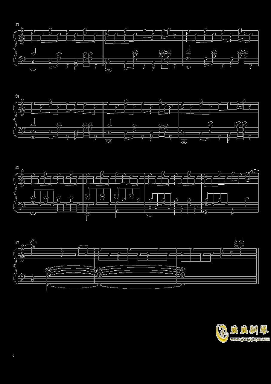 花钢琴谱 第4页