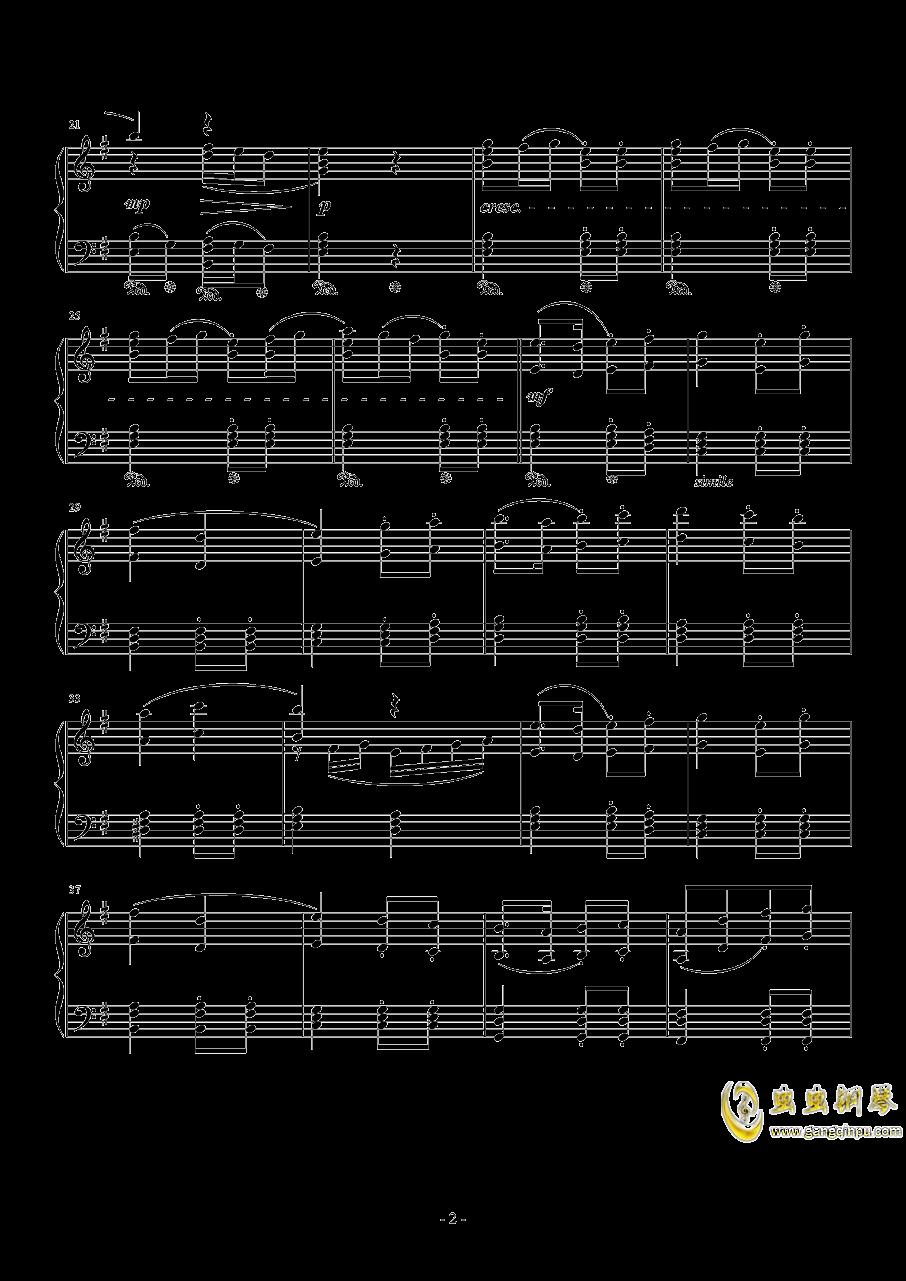 Ronfaure钢琴谱 第2页