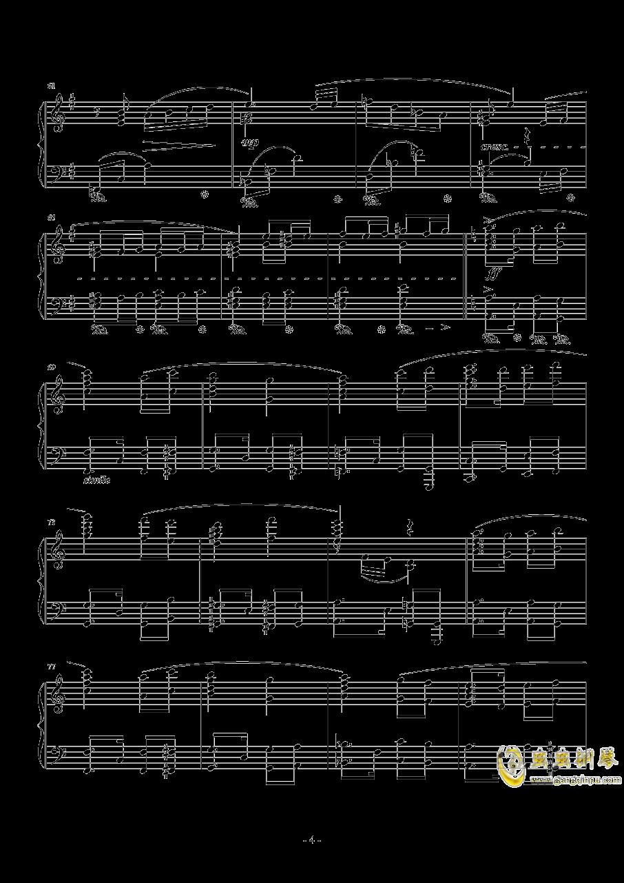 Ronfaure钢琴谱 第4页