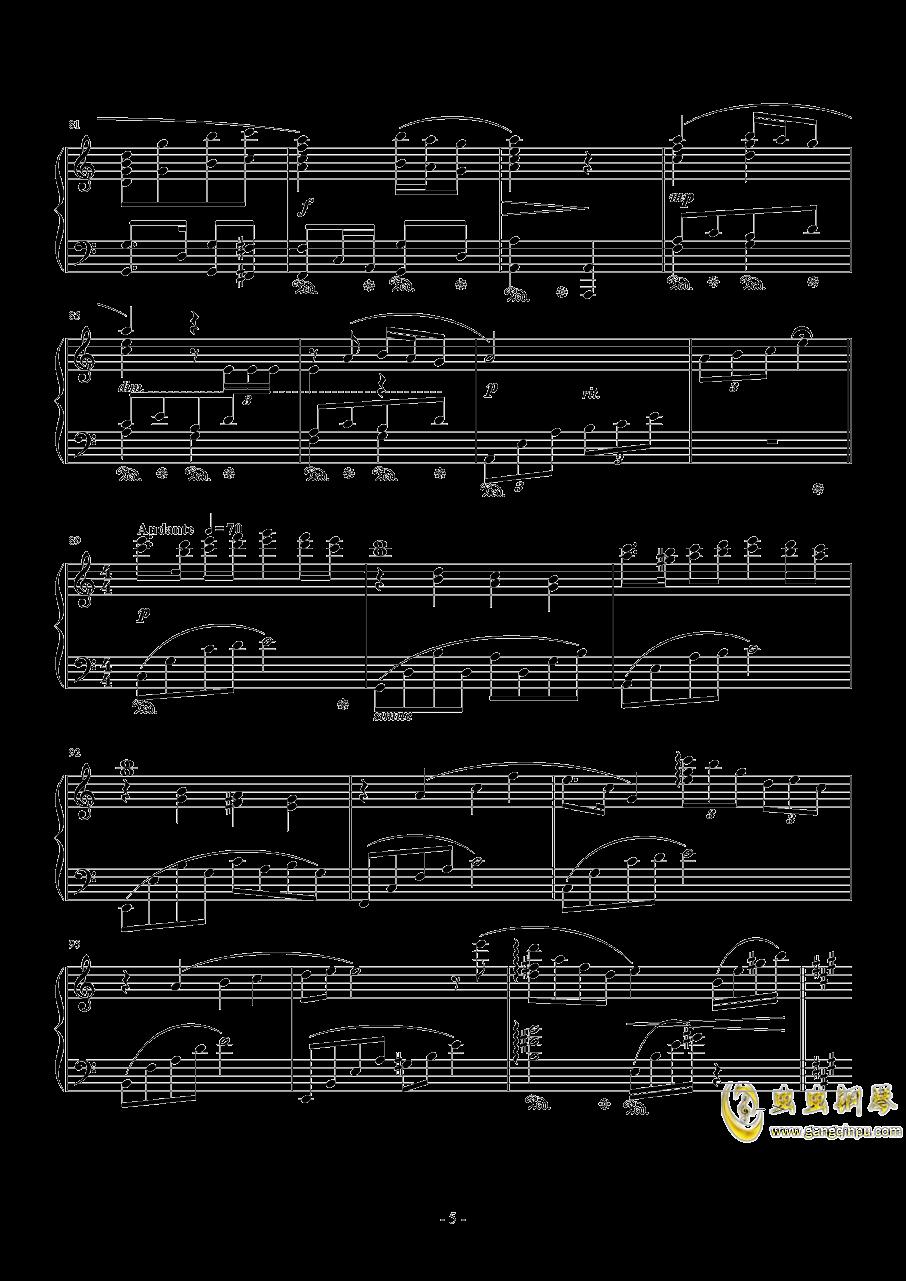 Ronfaure钢琴谱 第5页